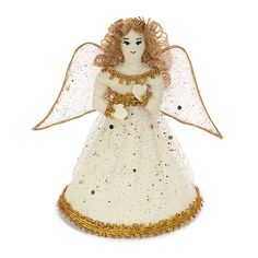 @WorldCrafts {Christmas Angel Ornament ~ Thai Country Trim ~ Thailand} This handcrafted angel ornament will add a heavenly presence to your tree or will serve as the perfect gift to an angel collector. Handmade by artisans at WorldCrafts' first artisan group, Thai Country Trim in Bangkla, Thailand, who use their income to provide much-needed essentials for their families. #fairtrade #supportfreedom