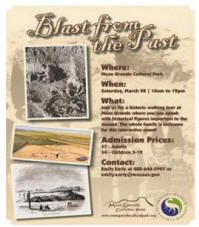 Blast Past at Mesa Grande Cultural Park March 28! Click for details.