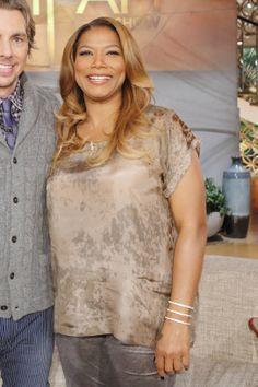 Queen Latifah's Wardrobe Wrap-up 1.22.14
