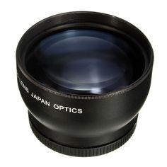 52MM 2X Telephoto <font><b>Lens</b></font> For <font><b>Nikon</b></font> D3100 D5200 D5100 D7100 D90 D60 and Other DSLR Camera <font><b>Lenses</b></font> With 52MM Filter Thread Price: PKR 2207.80665 | Pakistan