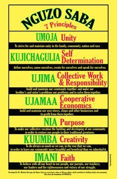 Seven Principles of Kwanzaa ...