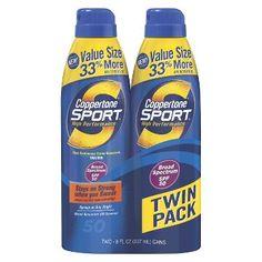 Coppertone Sport Continuous Spray Sunscreen SPF 50 - 16 oz