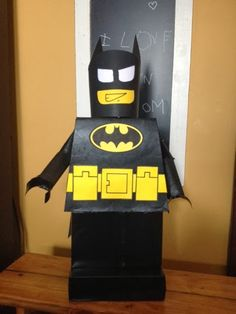I'm not actually sure if Marek needs a valentine box.... But his is a lego maniac, and he loves Batman and Batman Legos. The new Lego Movie ...