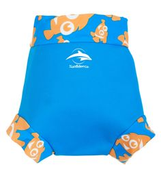 Buy Konfidence Baby Clown Fish Neo Nappy Cover, Blue from our Baby & Toddler Swimwear range at John Lewis & Partners. Free Delivery on orders over Cloth Diaper Covers, Cloth Diapers, Toddler Swimming, Baby Swimsuit, Baby Steps, Summer Baby, Our Baby, Gym Shorts Womens, Clownfish
