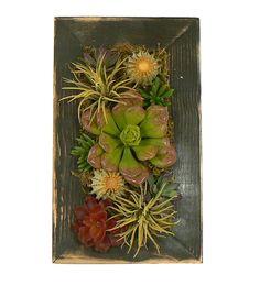 Rustic Cactus Wall Art