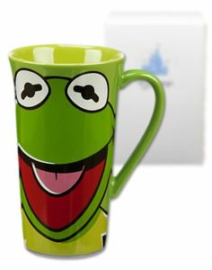 The best Kermit the Frog coffee quite possibly is this one from Disney's The Muppets Most Wanted movie! #kermitthefrog #mostwanted