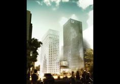 Two Towers by ADEPT Architects / URBANUS - I Like Architecture