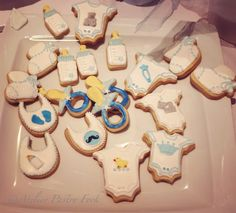 Cookies Baby Shower by Atelier Pastry Fork