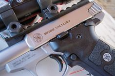 Review: Smith & Wesson Victory .22 LR Pistol, The safety and slide lock are steel wrapped with a polymer cover.