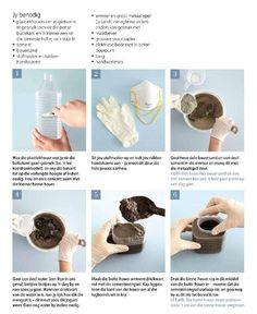 aqui ↓ passo a passo vasos de cimento Clique para ampliar