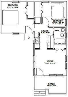 PDF house plans, garage plans, shed plans. Garage Building Plans, Garage Plans, Shed Plans, Small Tiny House, Small House Plans, House Floor Plans, 20x30 House Plans, Park Model Homes, Shed Homes
