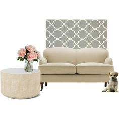"""cream sofa"" by couchfurniture on Polyvore"