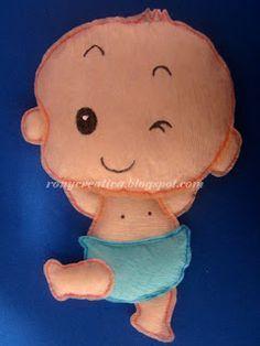 muñecos de papel crepe para bautizo - Buscar con Google