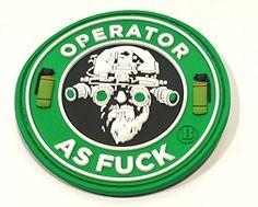 "3"" Round 3d PVC Operator As Fuck Guns and Coffee Patch Britkit http://www.amazon.com/dp/B00OY6CAB8/ref=cm_sw_r_pi_dp_WJbyub0M9HRTY"