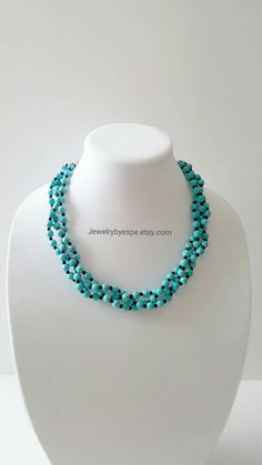 Hey, I found this really awesome Etsy listing at https://www.etsy.com/listing/279869356/turquoise-necklace-statement-necklace