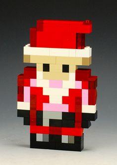 Minecraft Santa