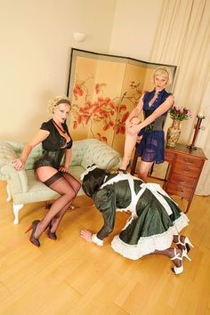 just a horny lil sissy slut: Archive Maid Outfit, Maid Dress, Feminized Husband, Female Supremacy, Exhibition, Madame, Mistress, Feminine, Sissy Maids