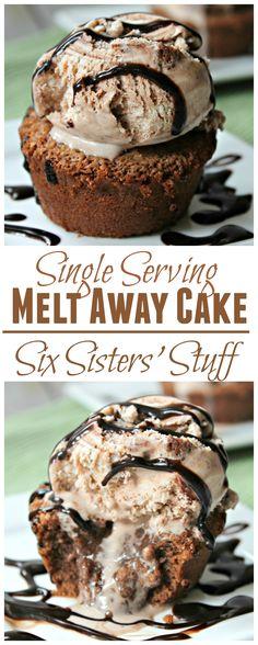 Single Serving Meltaway Cake