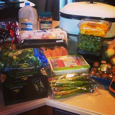 Kitchen tips & healthy grocery list