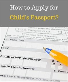How to Apply for #ChildPassport? This guide helps you to add required information on DS-11 application form, tells you about the requirements, answers common questions you may have to complete the application.