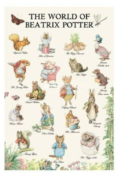 "Beatrix Potter, author and illustrator of the ""Peter Rabbit"" children's books in the early Coelho Peter, Beatrix Potter Illustrations, Beatrice Potter, Peter Rabbit And Friends, Children's Book Illustration, Book Illustrations, Woodland Illustration, Childrens Books, Fairy Tales"