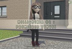 [ARTICLE] MilliGhexia #2 : Premières Tenues #crochet #crochethook #amigurumi #amigurumidoll #milliyarn #millighexia
