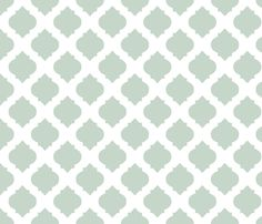 Medallions in Aqua fabric by katphillipsdesigns on Spoonflower - custom fabric NOT IN WALLPAPER