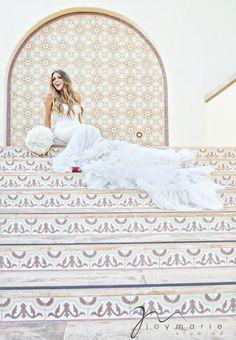 Gorgeous Bride in a Corset- Lacy Layered Wedding Dress. Photo by Joy Marie Studios. Layered Wedding Dresses, Bridal Portraits, Destination Wedding Photographer, Beautiful Bride, Bridal Style, Perfect Wedding, Bridal Gowns, Corset, Brides