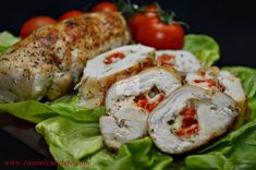 Sushi, Food And Drink, Cooking Recipes, Chicken, Ethnic Recipes, Easy Dinners, Wedding, Food, Ham