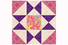 Try this variation of the Ohio Star quilt block pattern, with extra patchwork that adds more versatility to the block's corners.