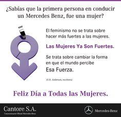#DiaDeLaMujer #MercedesBenz