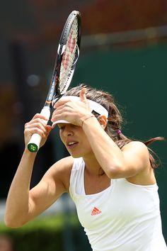Ana Ivanovic at #Wimbledon  OOpsey..!!
