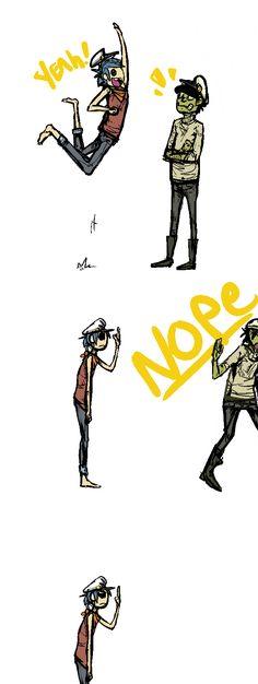 Poor 2D :(