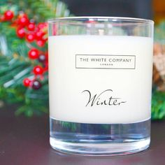 The smell of Christmas from @thewhitecompany from my Christmas candle edit pop on over to my blog for more #christmas #christmascandle #christmasshopping #TheWhiteCompany