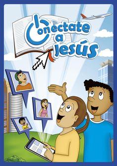 Escuela Bíblica de Vacaciones: Conéctate a Jesús. 5 clases para 4-6, 7-9 y 10-15 años. Con CD y ayudas visuales a color.