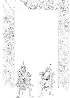 free labrynth coloring pages - photo#21