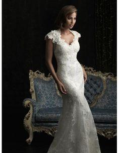 Allure 8764 Strapless Wedding Dress :: Margene's Bridal