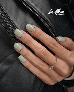 Subtle Nails, Neutral Nails, Stylish Nails, Trendy Nails, Hot Nails, Hair And Nails, Multicolored Nails, Lines On Nails, Diva Nails