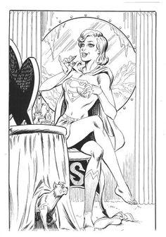 Supergirl by Jim Mooney