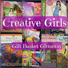 Creative Girls Gift Basket Giveaway at embracingdestinyblog.com
