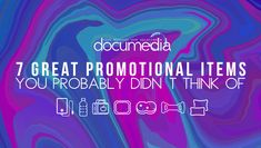 7 Great Promotional Items You Probably Didn't Think Of - Documedia Company Names, Pens, Drawer, Promotion, Neon Signs, Logos, Sayings, Random, Check