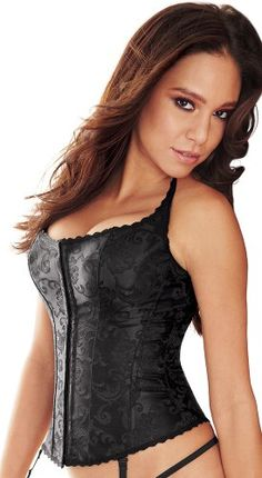 Frederick's of Hollywood Hollywood Dream Halter Corset Womens [Buy New: $62.00 ]
