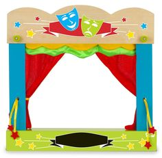 Puppet Theatre - Carry Case: Amazon.co.uk: Toys & Games