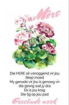 Goeie More, Afrikaans
