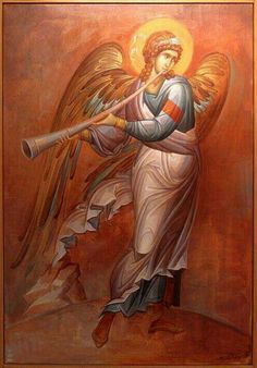 and Cultural instruments too- Angel icon Religious Images, Religious Icons, Religious Art, Byzantine Icons, Byzantine Art, Angels Among Us, Angels And Demons, I Believe In Angels, Ange Demon