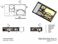 Recording studio planning