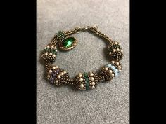 Interlace Beaded Bead & Tubular Herringbone Chain – A Bronzepony Beaded Jewelry Design - Perlen Schmuck Beaded Beads, Beaded Bracelet Patterns, Beaded Necklace, Bracelets Design, Bangle Bracelets, Peyote Bracelet, Chan Luu, Gypsy, Miyuki Beads