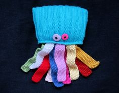Knit your own wonky jellyfish , easy