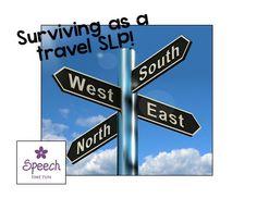Speech Time Fun: Surviving As A Travel SLP! (ideas & tips!)