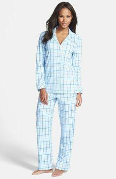 Carole Hochman Designs Notch Collar Pajamas   Nordstrom
